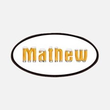 Mathew Beer Patch