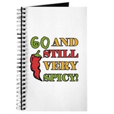 Spicy At 60 Years Old Journal