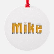 Mike Beer Ornament