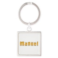 Manuel Beer Square Keychain