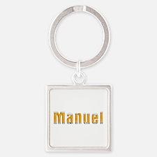 Manuel Beer Square Keychain