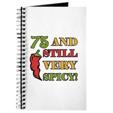 Spicy At 75 Years Old Journal