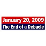 January 20, 2009 bumper sticker