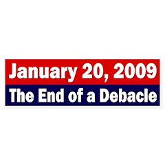 January 20, 2009 bumper sticker