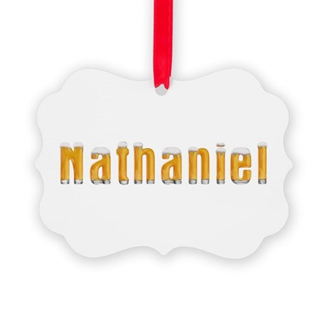 Nathaniel Beer Picture Ornament