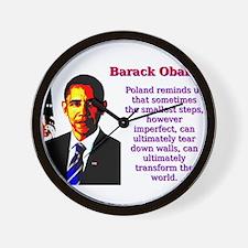 Poland Reminds Us That Sometimes - Barack Obama Wa