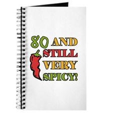 Spicy At 80 Years Old Journal