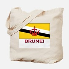 Brunei Flag Gear Tote Bag
