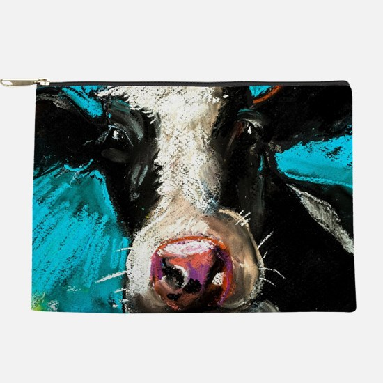 Cow Painting Makeup Pouch