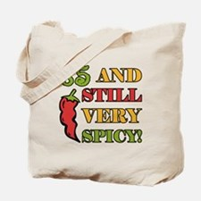 Spicy At 85 Years Old Tote Bag