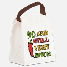 Spicy At 90 Years Old Canvas Lunch Bag