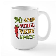 Spicy At 90 Years Old Mug