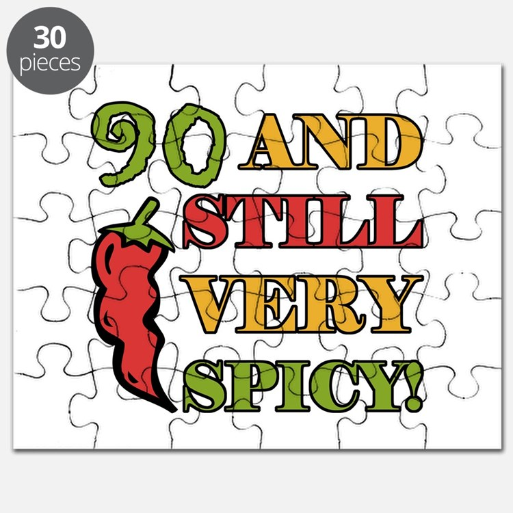 Spicy At 90 Years Old Puzzle