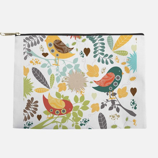 Woodland Birds Makeup Pouch