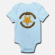 Navy - Officer of the Line Infant Bodysuit