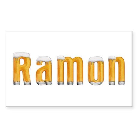 Ramon Beer Rectangle Sticker