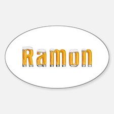 Ramon Beer Oval Decal