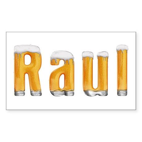 Raul Beer Rectangle Sticker
