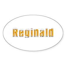 Reginald Beer Oval Decal