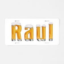 Raul Beer Aluminum License Plate