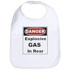 Danger Explosive Gas In Rear Bib