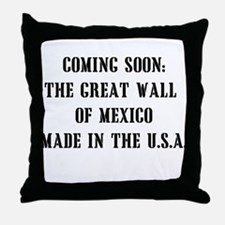 Wall of Mexico Throw Pillow