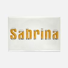 Sabrina Beer Rectangle Magnet