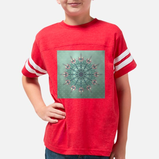 Vintage Floral Youth Football Shirt