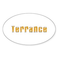 Terrance Beer Oval Decal