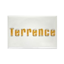 Terrence Beer Rectangle Magnet