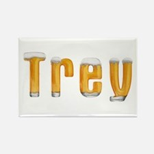 Trey Beer Rectangle Magnet