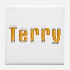 Terry Beer Tile Coaster
