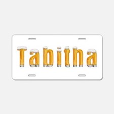 Tabitha Beer Aluminum License Plate