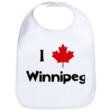 I Love Winnipeg Bib