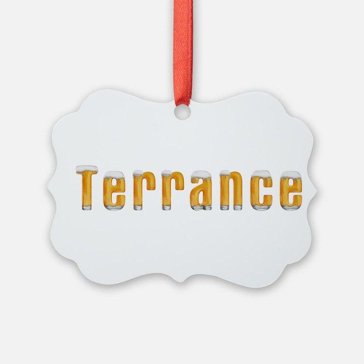 Terrance Beer Ornament
