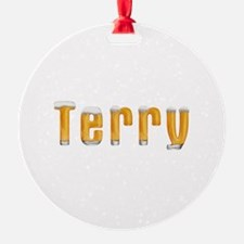 Terry Beer Ornament