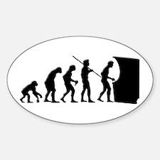Gamer Evolution Oval Decal