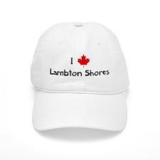 I Love Lambton Shores Baseball Baseball Cap