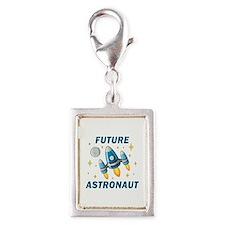 Future Astronaut (Boy) - Silver Portrait Charm