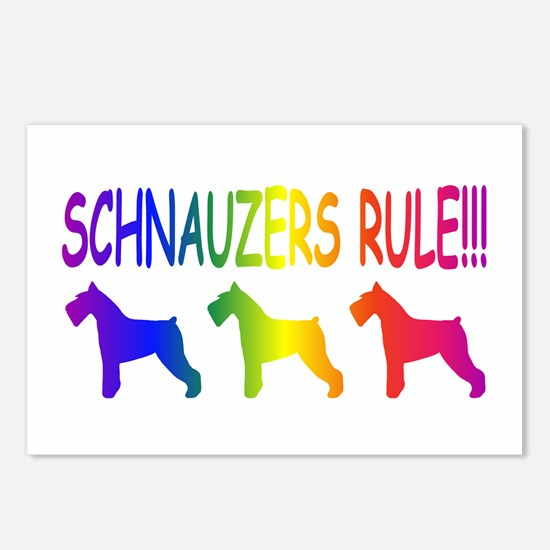 Schnauzer Postcards (Package of 8)