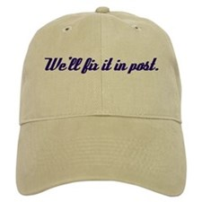 We'll Fix it in Post Baseball Cap for Avid filmmakers