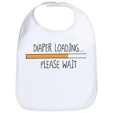 Diaper Loading... Please Wait Bib