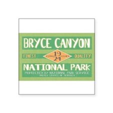 Bryce Canyon National Park (Retro) Sticker