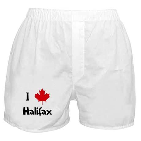 I Love Halifax Boxer Shorts