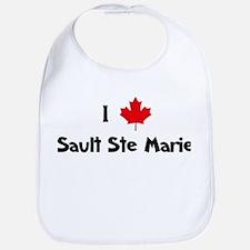 I Love Sault Ste Marie Bib