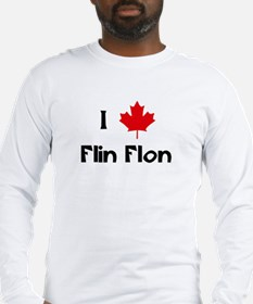 I Love Flin Flon Long Sleeve T-Shirt