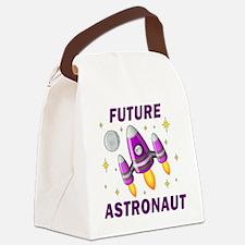 Future Astronaut (Girl) - Canvas Lunch Bag