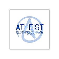 "Atheist Clothing Company Square Sticker 3"" x 3"""