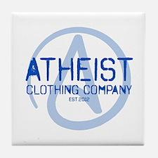 Atheist Clothing Company Tile Coaster