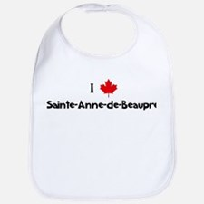 I Love Sainte-Anne-de-Beaupre Bib